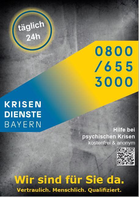 Krisendienst Oberpfalz Ansicht Postkarte